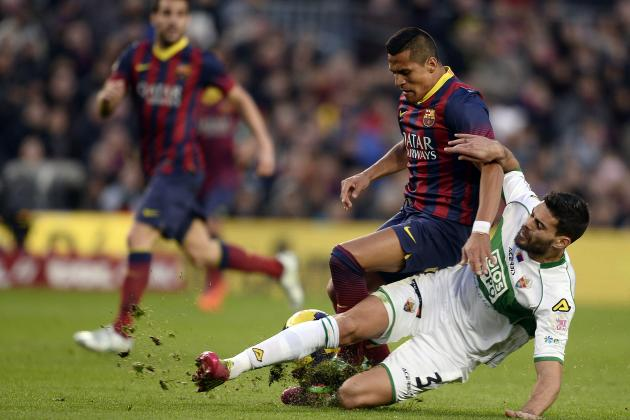 Elche vs. Barcelona: Date, Time, Live Stream, TV Info and Preview