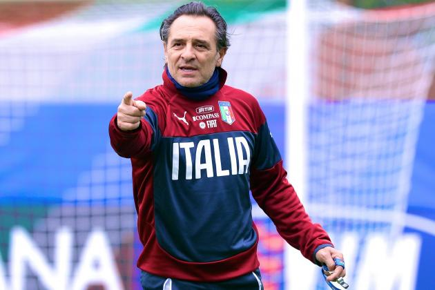 Cesare Prandelli Doesn't Want Any of Roy Hodgson's England Crop