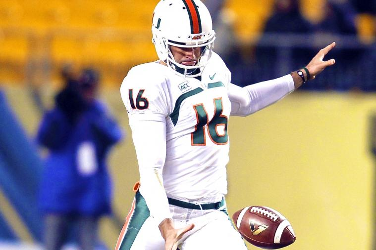 Punter Pat O'Donnell Bench-Pressed More Than Jadeveon Clowney at NFL Combine