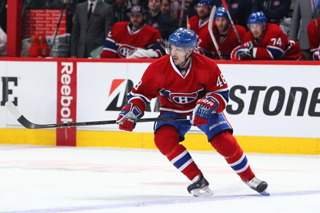 Habs' Briere Healthy Scratch, Prust Returns for Game 5