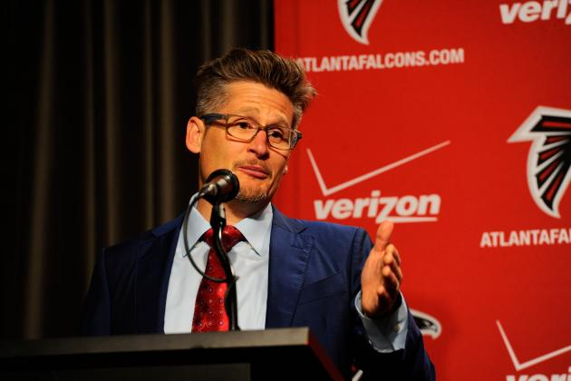 NFL Draft 2014: A Look at Dimitroff's Trading Record