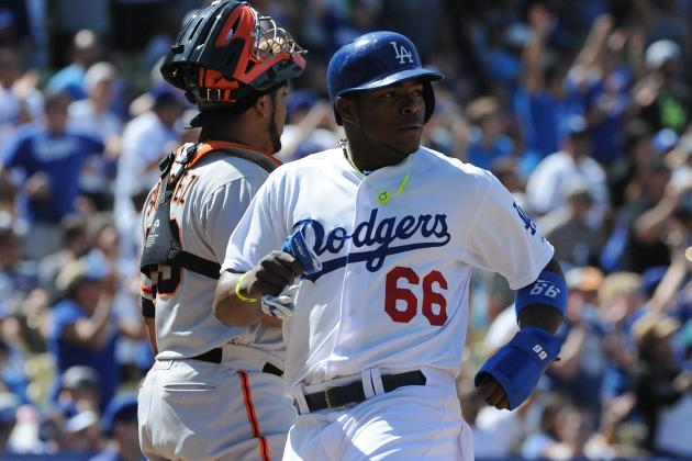 Puig, Gordon Lead Dodgers' Rally Past Giants