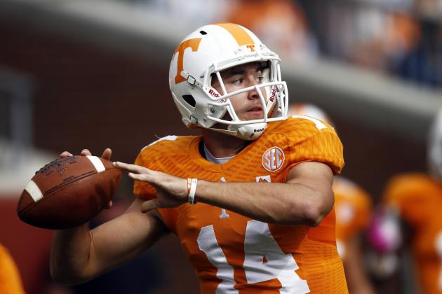 Why Justin Worley Will Be the Tennessee Vols' Starting QB in 2014
