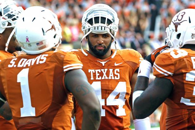 Texas Longhorns Go Undrafted in NFL Draft for 1st Time Since 1937