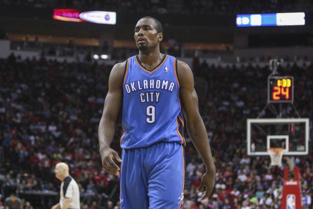 Serge Ibaka's Emergence Key in OKC Thunder Elevating Playoff Ceiling