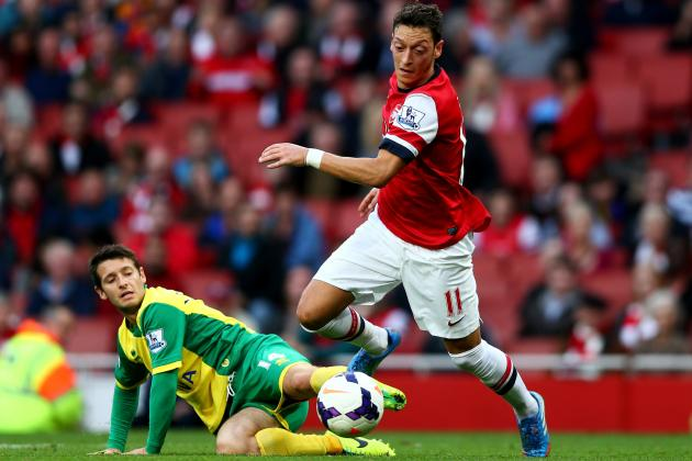 Norwich City vs. Arsenal: Live Player Ratings