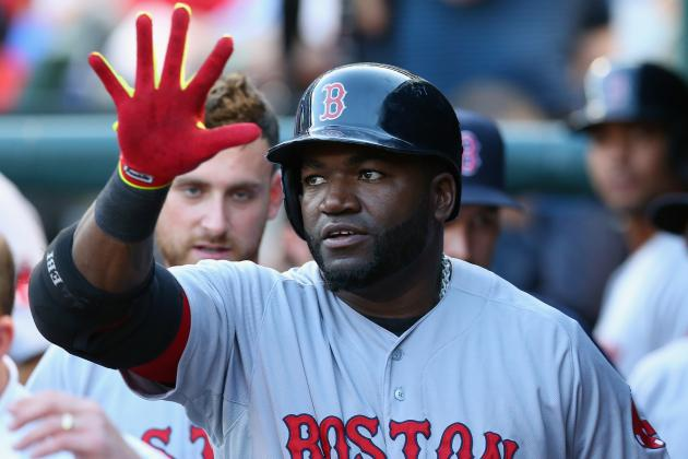 Ortiz Homers and Doubles, Red Sox Beat Rangers 8-3