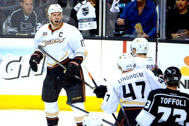 Anaheim Ducks vs. Los Angeles Kings Game 4: Live Score and Highlights