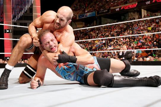 Cesaro's Feud with Rob Van Dam Will Not Advance His Career
