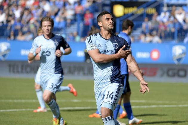 Dom Dwyer Becoming MLS All-Star Candidate, Breaks Top 5 in Scoring