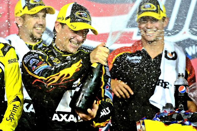 Jeff Gordon Gets Missing Piece to Stellar 2014 Season with Win at Kansas