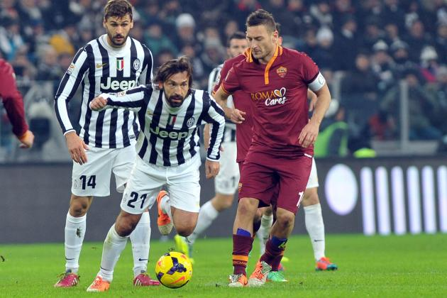 AS Roma vs. Juventus: Serie a Live Score, Highlights, Report