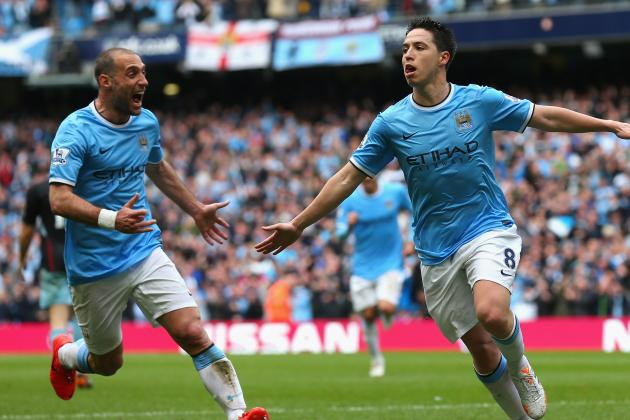 Watch: Nasri's Strike vs. West Ham