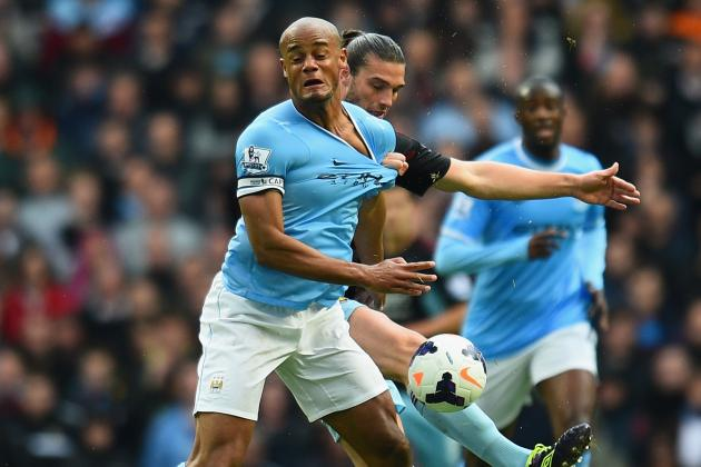 Vine: Kompany Scores City's 2nd to Kill off Liverpool