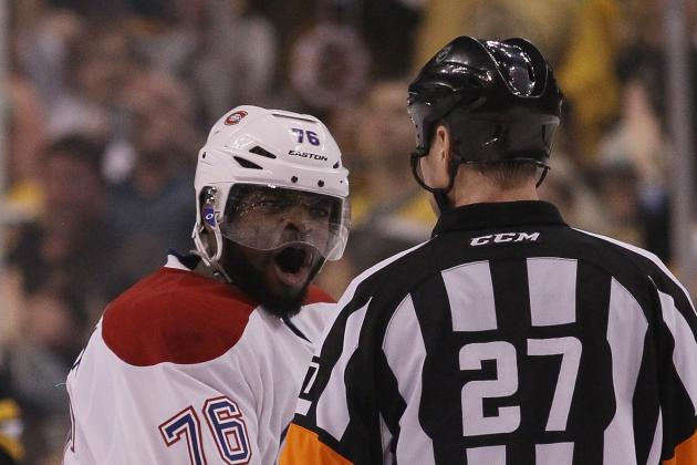 Bruins' Shawn Thornton Fined for Squirting Water as P.K. Subban