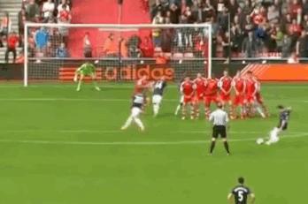Watch: Mata Equalises Through Free Kick