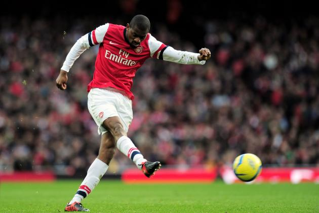 Diaby Makes Arsenal Return