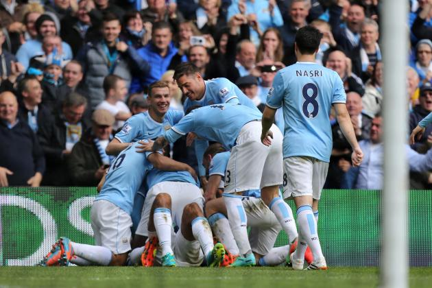 Twitter Reacts as Manchester City Capture 2013-14 Premier League Title