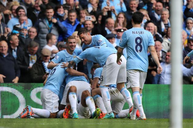 Twitter Reacts as Manchester City Capture 2013-14 Premier League Title