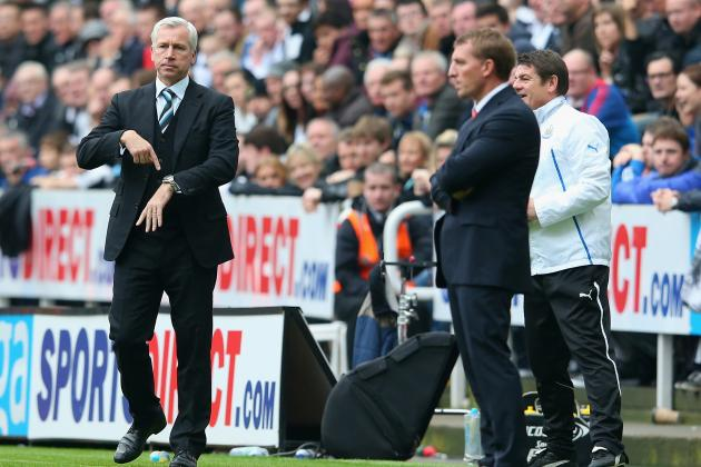 Liverpool vs. Newcastle: Post-Match Reaction of Brendan Rodgers, Alan Pardew