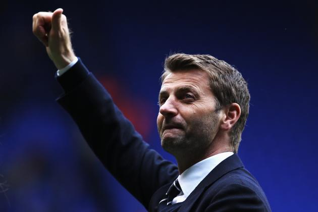 Tim Sherwood Invites Heckler to Spurs' Bench, Gives Him His Gilet