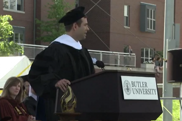 Celtics Coach Brad Stevens Returned to Butler to Give the Commencement Address