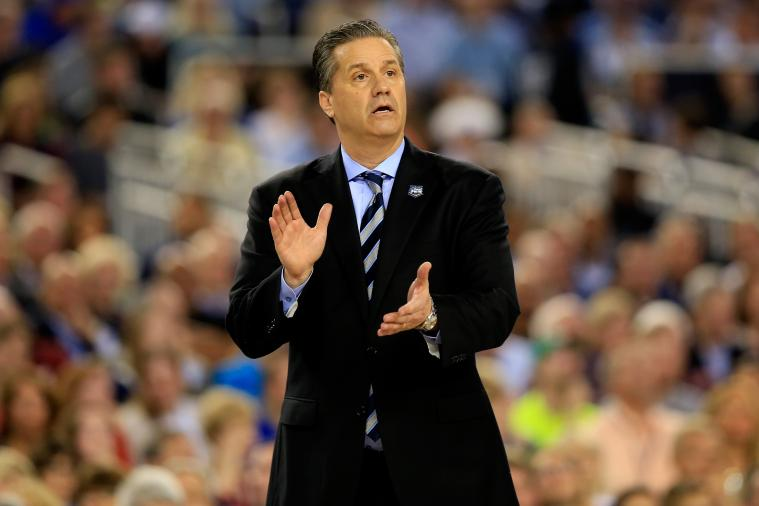 You Can Have Kentucky Coach John Calipari Call Your Mom for Mother's Day