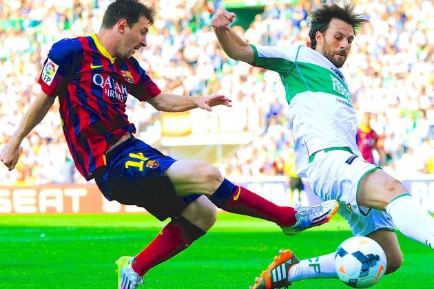 Elche vs. Barcelona: La Liga Live Score, Highlights, Report