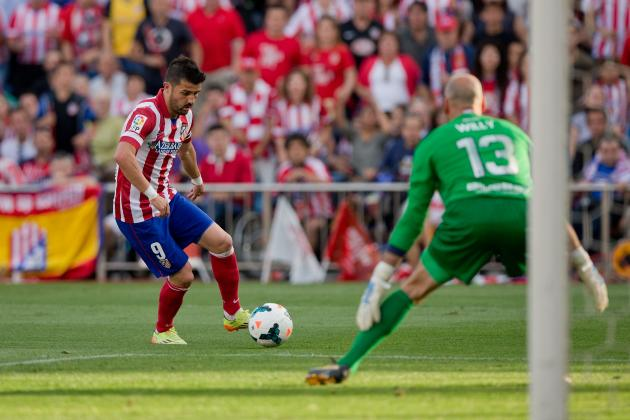 Atletico Madrid vs. Malaga: Live Player Ratings for Diego Simeone's Team