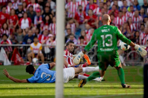 Atletico Madrid vs. Malaga: Score, Grades and Post-Match Reaction