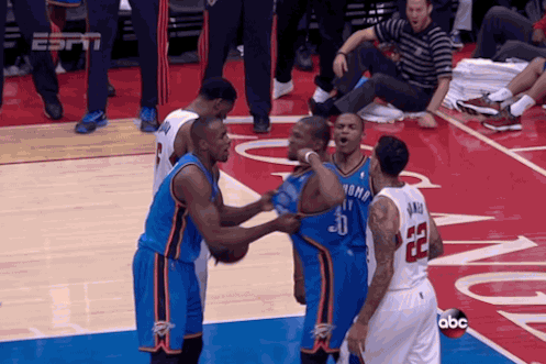 Kevin Durant Finishes Through a Hard Foul and Flexes Against Clippers
