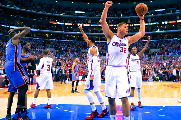 Thunder vs. Clippers: Game 4 Score and Twitter Reaction from 2014 NBA Playoffs