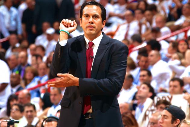Erik Spoelstra on Stopping Brooklyn Nets: 'Like Trying to Plug a Dam'