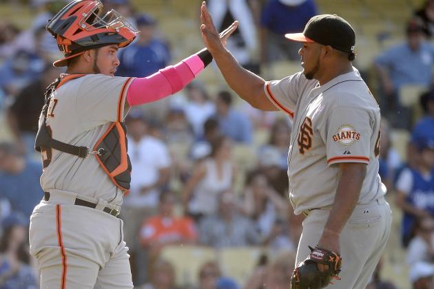 Giants Top Dodgers 7-4 in 10 After Romo Blows Save
