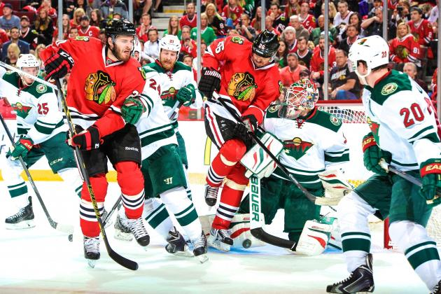 Minnesota Wild vs. Chicago Blackhawks Game 5: Live Score and Highlights