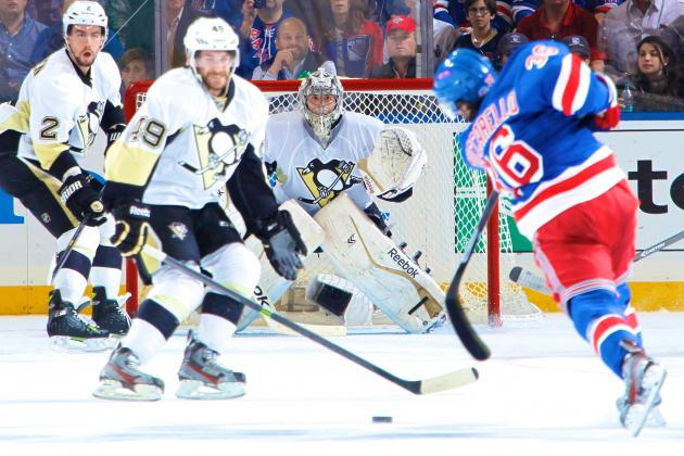 Penguins Beginning to Unravel as Rangers Continue Surge to Force Game 7