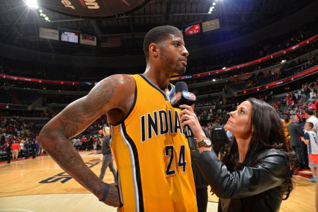Paul George's 'Special' Performance Guides Pacers to Game 4 Win