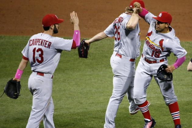 Rosenthal Escapes Jam as Cardinals Edge Pirates
