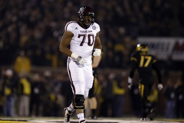 Texas A&M: Breaking Down Where Cedric Ogbuehi Landed on 2015 NFL Draft Boards