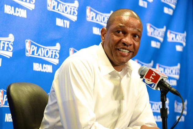 Doc Rivers Demands Victory Beer After Wild Win over Oklahoma City Thunder