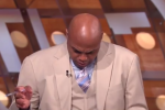 Shaq Messes with Barkley's Chair