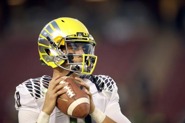 Marcus Mariota Tops Way-Too-Early Big Board for 2015 NFL Draft