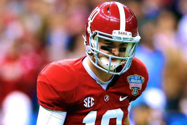 Former Tide QB AJ McCarron Says He 'Wasn't Healthy at Alabama'