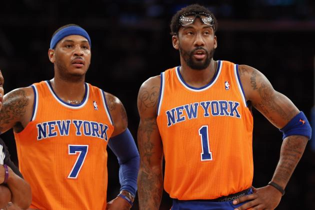 Amar'e Stoudemire Uncertain If Carmelo Anthony Will Stay with New York Knicks