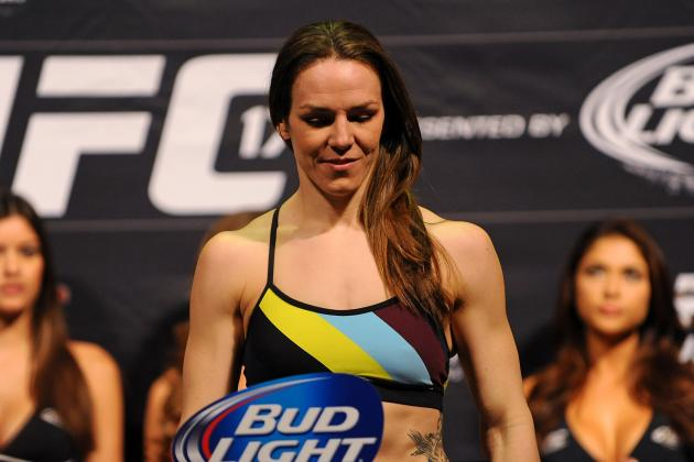 Alexis Davis: 'I Definitely Think I Am Going to Be Able to Stop the Armbar'