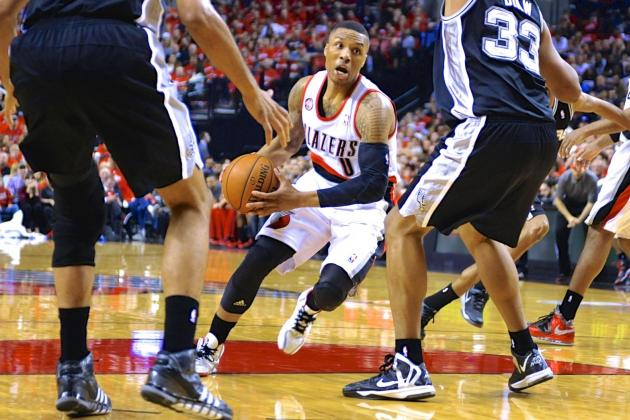 Daunting San Antonio Spurs Offer Damian Lillard Perfect Growing Pains