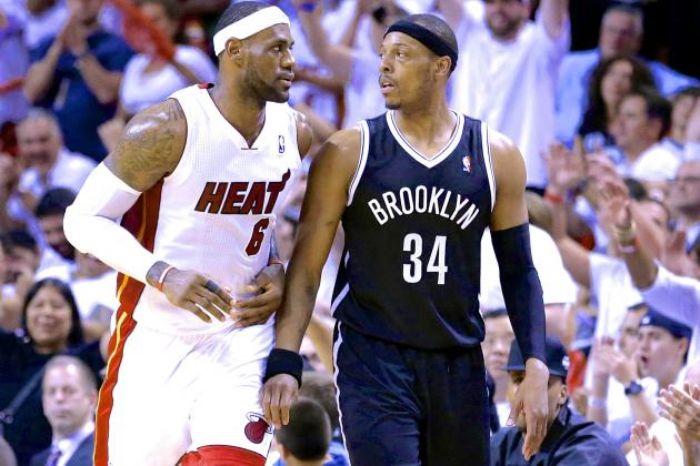 Paul Pierce Wants to Defend LeBron James, Says Miami Heat 'Not Unbeatable'