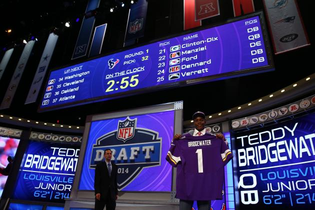 2014 NFL Draft: Breaking Down the NFC North Post-Draft