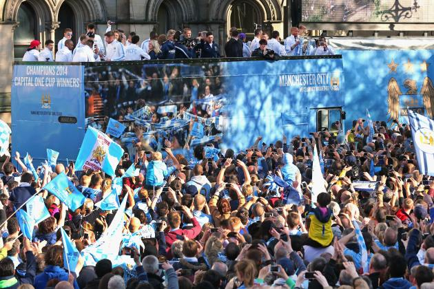 Manchester City Parade 2014: Twitter Reaction, Photos, Videos and More