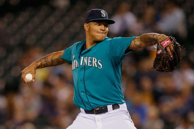 Mariners' Taijuan Walker, James Paxton Feel Stronger